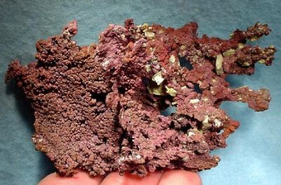 Cuprite, Copper
