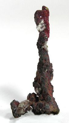Cuprite (Var: Chalcotrichite), Copper