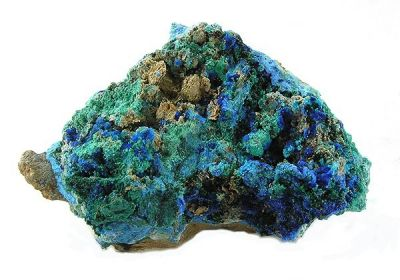 Cyanotrichite, Brochantite