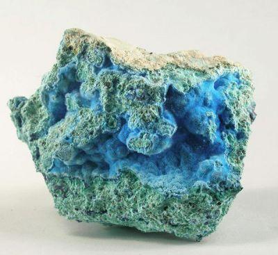 Cyanotrichite, Malachite