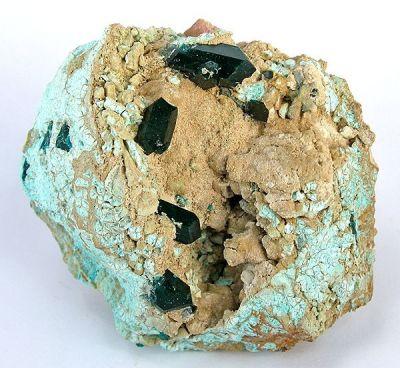 Dioptase, Plancheite