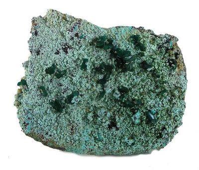 Dioptase, Chrysocolla