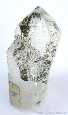 Pyrrhotite Included in Quartz