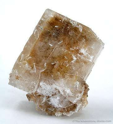 Inyoite With Meyerhofferite - - Donated to Harvard Mineralogical Museum