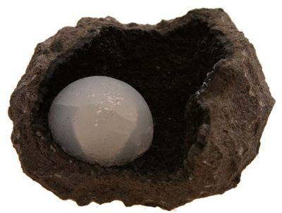 Epistilbite, Geode