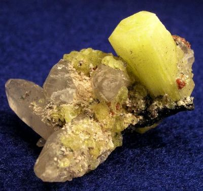 Ettringite, Calcite