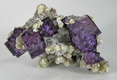 Fluorite, Muscovite