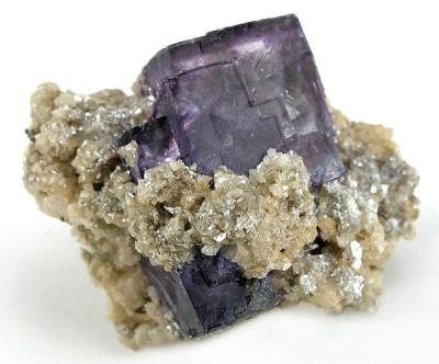 Fluorite, Dolomite, Muscovite