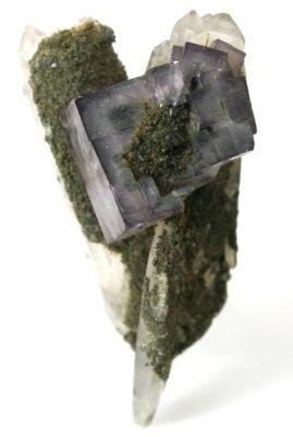 Fluorite, Quartz, Chlorite Group