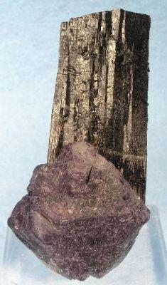 Fluorite, Schorl