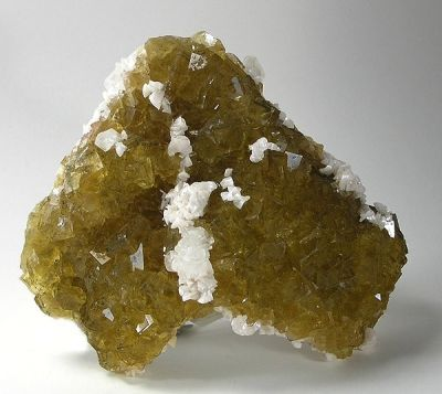 Fluorite, Dolomite, Calcite