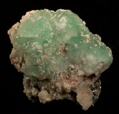 Fluorite, Rhodochrosite