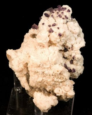 Fluorite, Quartz (Var: Smoky Quartz), Microcline