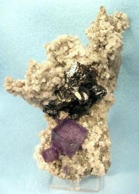 Fluorite, Sphalerite, Dolomite