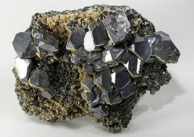 Galena, Siderite, Sphalerite