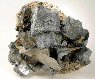 Galena, Sphalerite, Dolomite, Marcasite