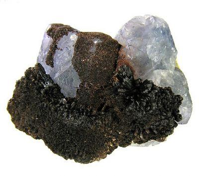 Goethite, Fluorite
