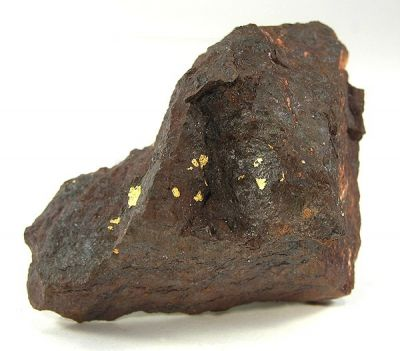 Gold, Goethite