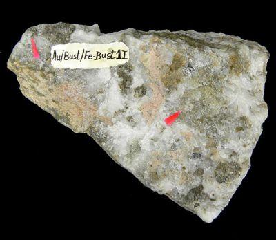 Gold, Bustamite, Ferrobustamite