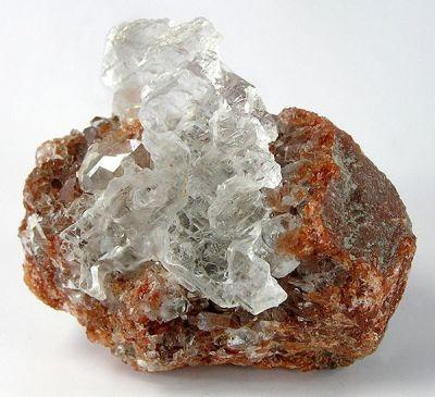 Gypsum (Var: Selenite), Celestine