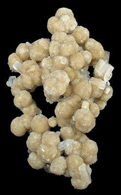Gyrolite, Apophyllite-(Kf)