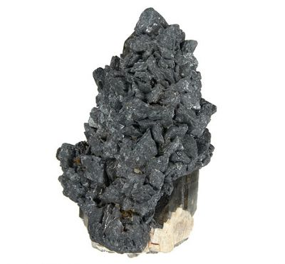 Hematite, Siderite, Quartz (Var: Smoky Quartz)