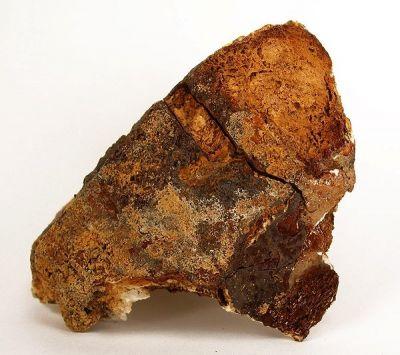 Hemimorphite, Calcite