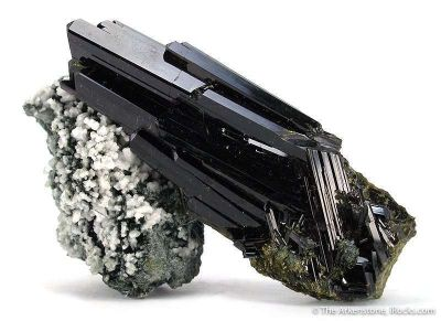 Epidote With Byssolite and Dolomite
