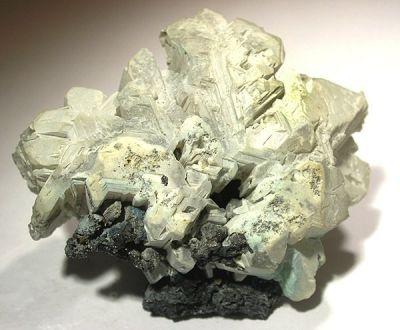 Hydrocerussite, Cerussite, Galena