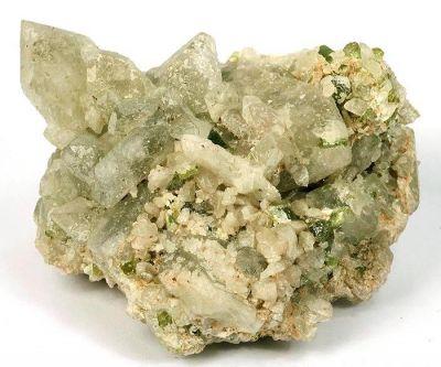 Hydroxylherderite, Elbaite, Lepidolite