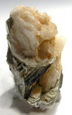 Hydroxylherderite, Albite (Var: Cleavelandite), Muscovite