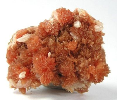 Inesite, Orlymanite, Calcite