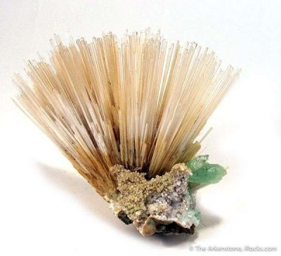 Mesolite With Apophyllite