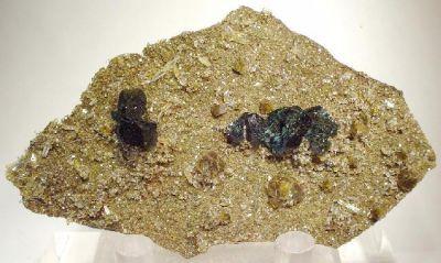Lazulite, Siderite, Quartz