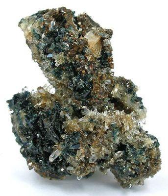 Lazulite, Quartz, Siderite