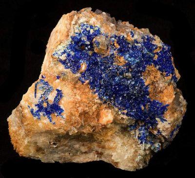 Linarite, Fluorite