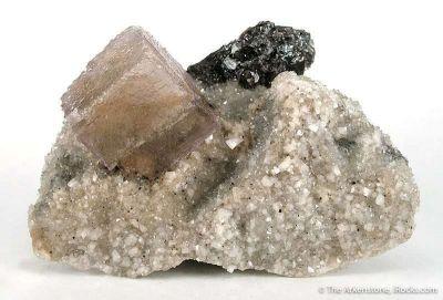 Fluorite, Dolomite, Sphalerite