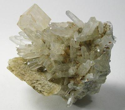 Magnesite, Quartz, Dolomite