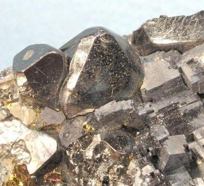 Magnetite, Galena, Chalcopyrite