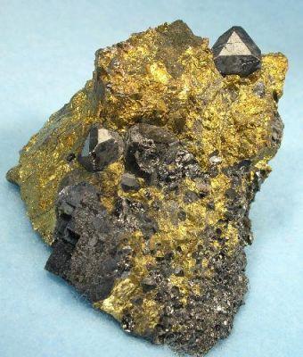 Magnetite, Chalcopyrite, Galena