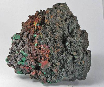Malachite, Goethite
