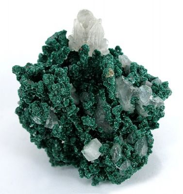 Malachite, Copper, Cerussite