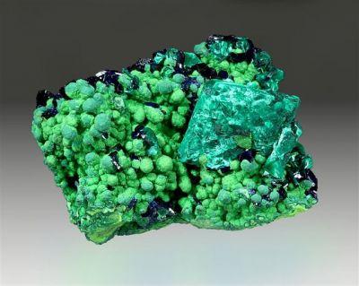 Malachite, Azurite, Mottramite