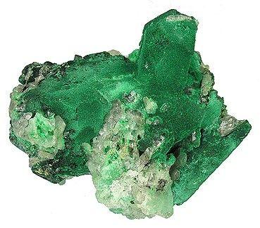 Malachite, Azurite, Cerussite, Arsentsumebite