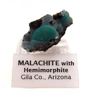 Malachite, Hemimorphite