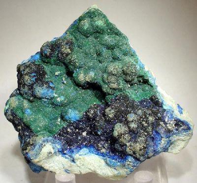 Malachite, Azurite, Bisbeeite
