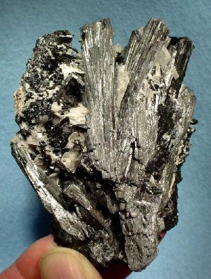 Manganite, Pyrolusite, Baryte