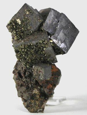 Marcasite, Galena, Sphalerite