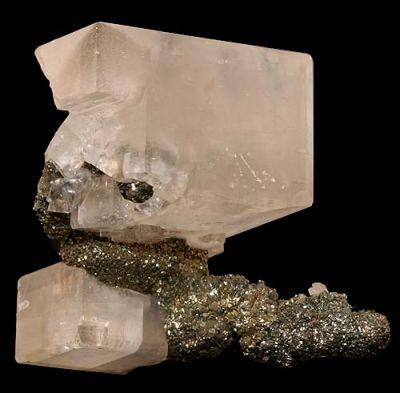 Marcasite, Calcite