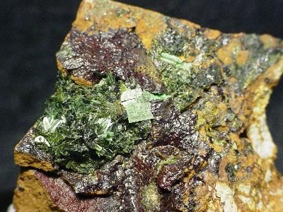 Metazeunerite, Olivenite